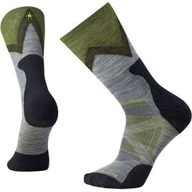 Smartwool PhD Outdoor Approach Crew Socks Unisex Medium Gray